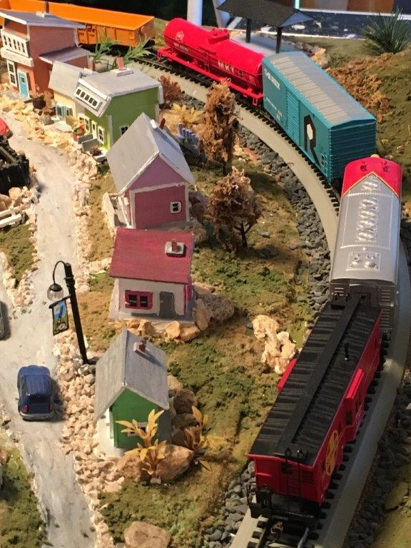 Gibsons Train Set Silent Auction