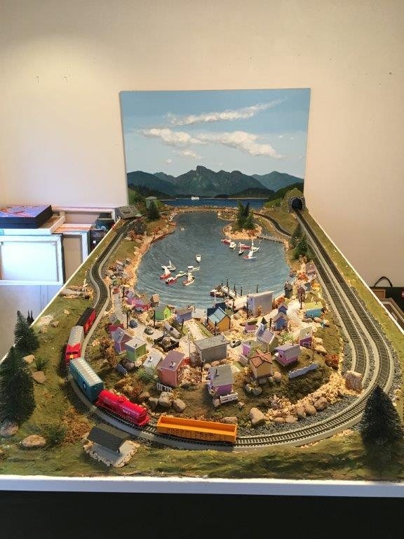 Gibsons Train Set - Silent Auction