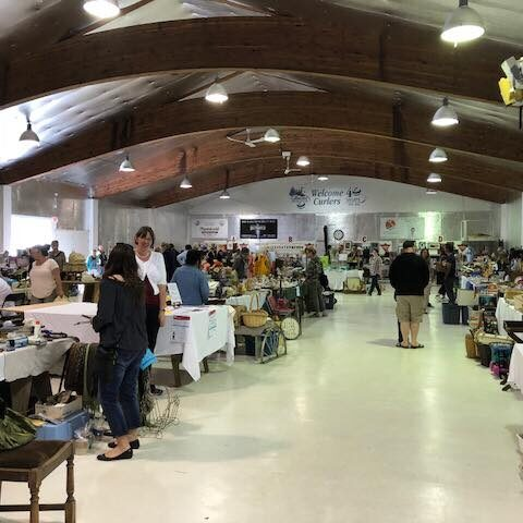 Flea Markets at the Curling Club